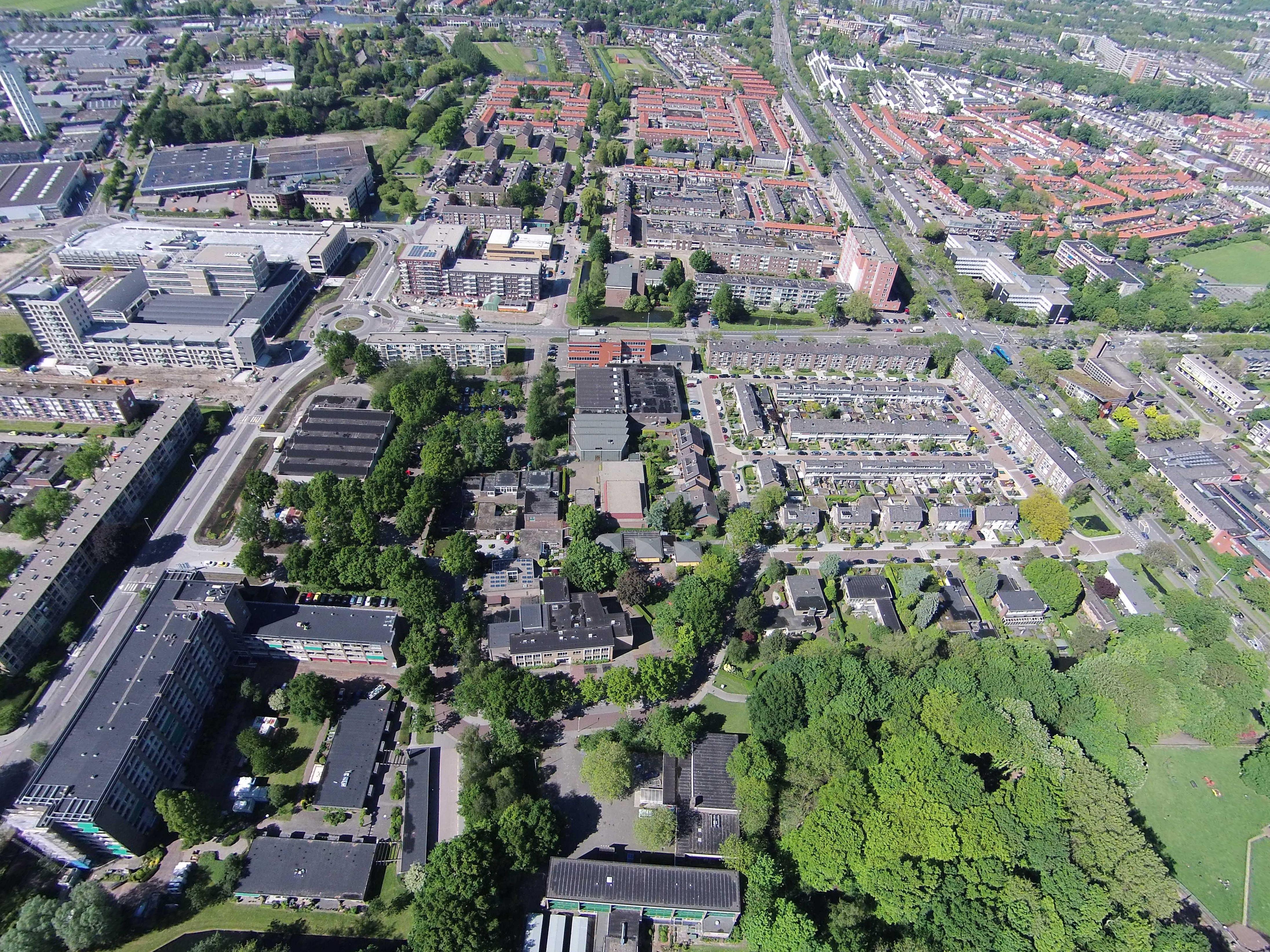 Uitzicht op de baronie luchtfotos - Uitzicht op de tuinman ...