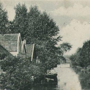 Julianastraat Kanaal naar het station 1905