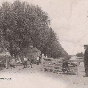 Gouwsluis-tol 1900
