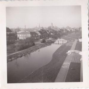 Aarkade vanaf de Nachtegaalflat gezien 1960