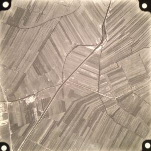 Luchtfoto van Alphen 1956 nog zonder Zegerplas.