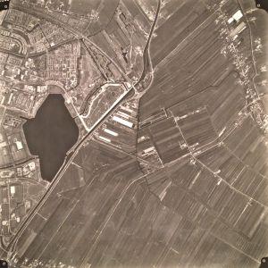 Luchtfoto van Alphen uit 1992