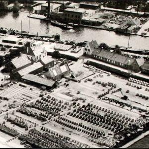 Luchtfoto Betonfabriek Berendrecht