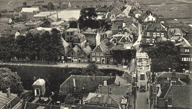 Luchtfoto Alphensebrug