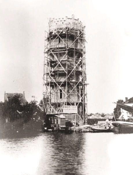 Prins Hendrikstraat  Watertoren In Aanbouw