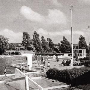 Duikplank zwembad De Hoorn