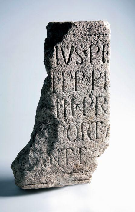 Toegangspoort Van Het Romeinse Castellum Albaniana