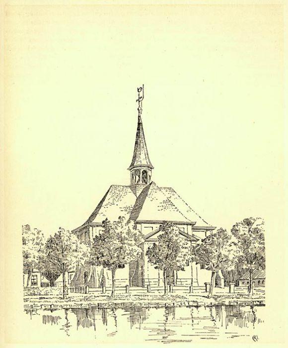 Tekening Oudhoornsekerk