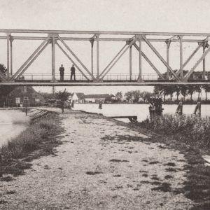 Spoorbrug over de Oude Rijn