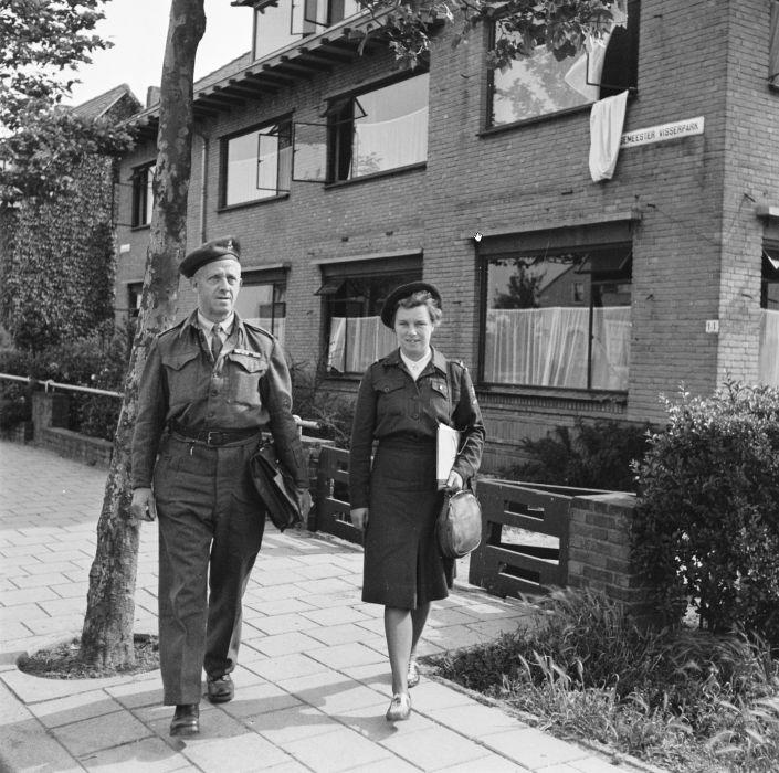 Binnenlandse Strijdkrachten Op Het Visserpark 1945