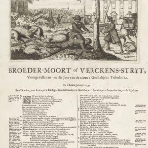 Broedermoord of varkensstrijd