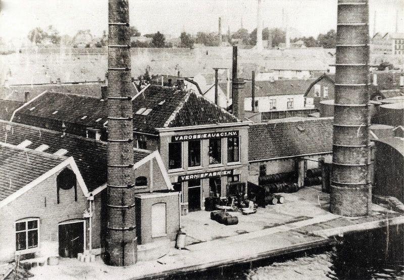 Emmalaan, Vernisfabriek