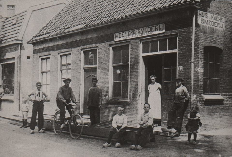 Smederij In De Prins Hendrikstraat
