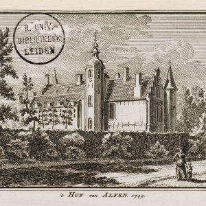 Tekening Hof van Alphen
