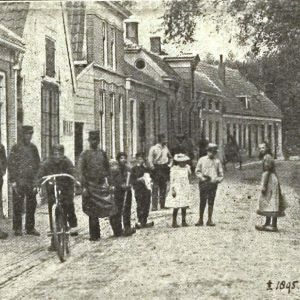 Hooftstraat bij gereformeerde kerk