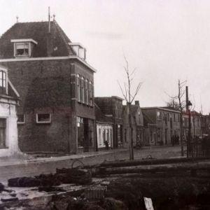 Hooftstraat ter hoogte van de Julianabrug