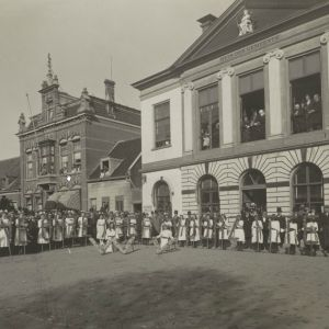 Jubilieum burgemeester Visser
