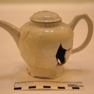 Engels aardewerk:thee/koffiepot