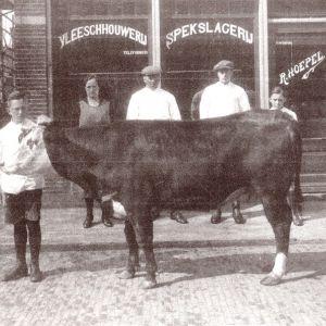 Wilhelminalaan, Slagerij