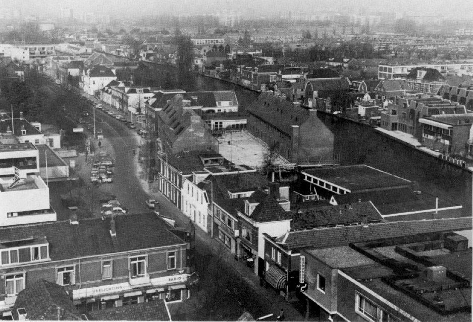 Luchtfoto Wilhelminalaan