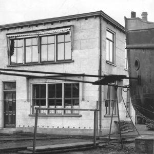 Wilhelminalaan, scheepswerf Boot, kantoor
