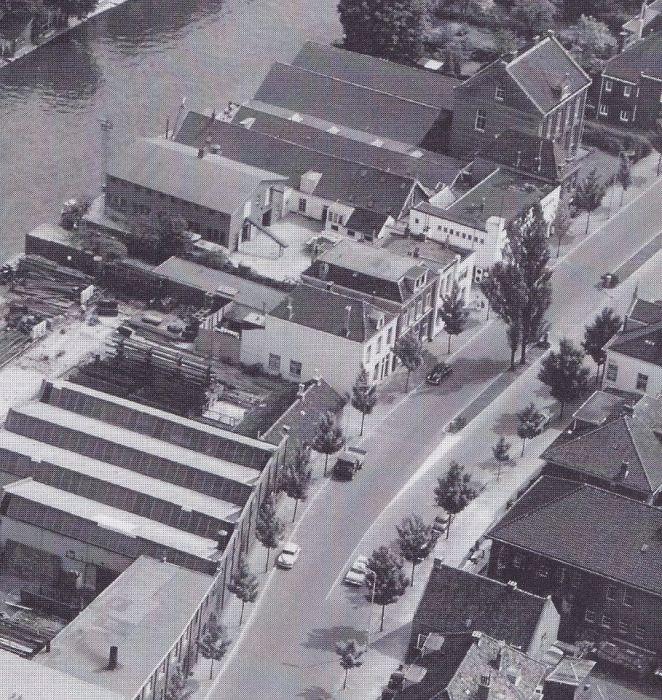 Luchtfoto Wilhelminalaan, Kantongerecht
