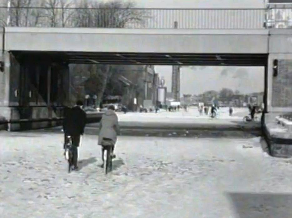 Winter 1962/63 Oude Rijn